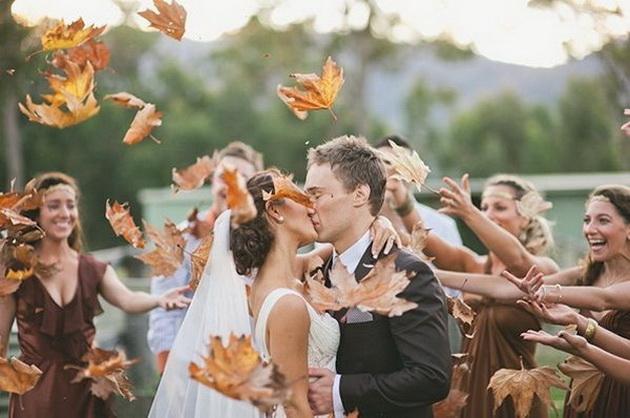 Фотографии заради кои ќе посакате есенска свадба!