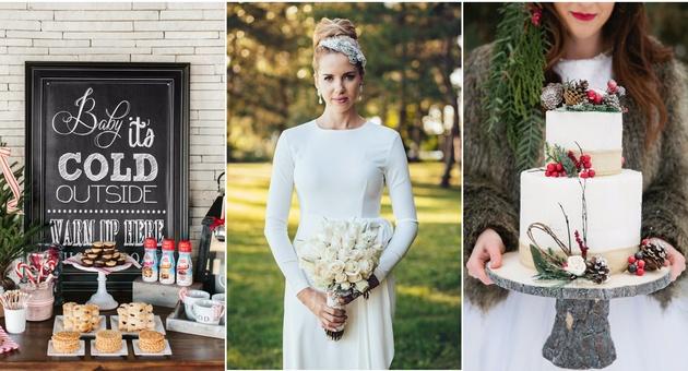 Прекрасни идеи за зимска свадба(ФОТО)